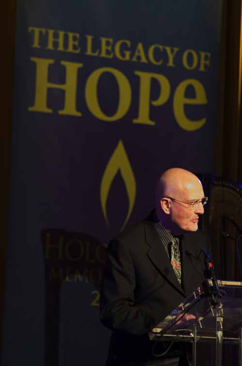Peter Finch at Holocaust Memorial Day 2010