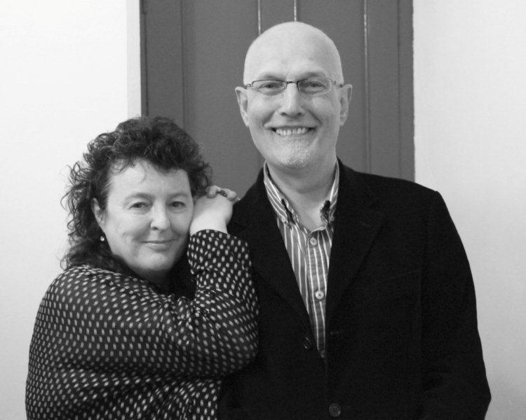 Carol Ann Duffy and Peter Finch