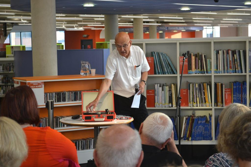 Peter Finch Roots of Roack at Cardiff Library Hub