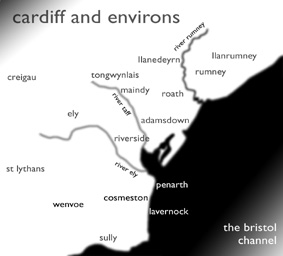 Real cardiff Two Map